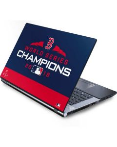 Boston Red Sox World Series Champions 2018 Generic Laptop Skin