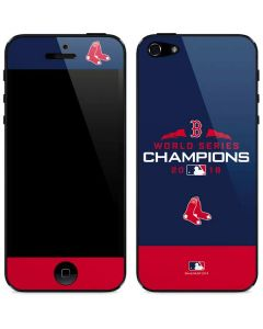 Boston Red Sox World Series Champions 2018 iPhone 5/5s/5SE Skin