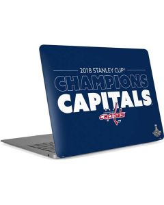 2018 Stanley Cup Champions Capitals Apple MacBook Air Skin