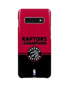 2019 Champions Toronto Raptors Galaxy S10 Plus Lite Case