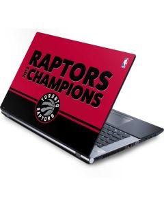 2019 Champions Toronto Raptors Generic Laptop Skin
