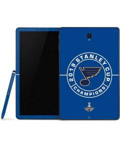 2019 Stanley Cup Champions Blues Samsung Galaxy Tab Skin