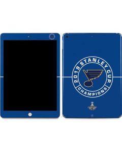 2019 Stanley Cup Champions Blues Apple iPad Skin