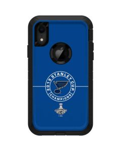 2019 Stanley Cup Champions Blues Otterbox Defender iPhone Skin