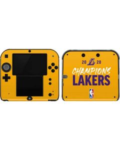 2020 Champions Lakers 2DS Skin