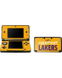 2020 Champions Lakers 3DS (2011) Skin