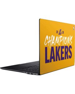 2020 Champions Lakers Ativ Book 9 (15.6in 2014) Skin