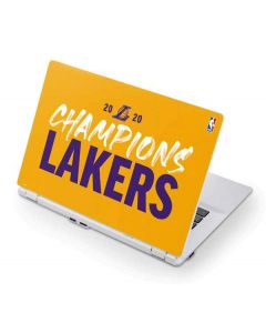 2020 Champions Lakers Acer Chromebook Skin