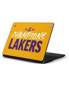 2020 Champions Lakers Samsung Chromebook Skin