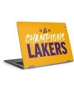 2020 Champions Lakers HP Elitebook Skin