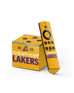 2020 Champions Lakers Fire TV Cube Skin