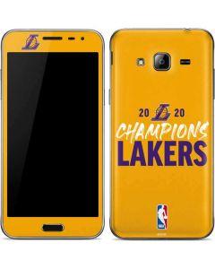 2020 Champions Lakers Galaxy J3 Skin