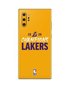 2020 Champions Lakers Galaxy Note 10 Plus Skin