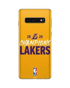 2020 Champions Lakers Galaxy S10 Skin