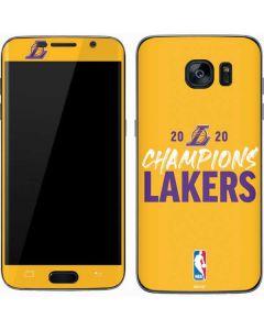 2020 Champions Lakers Galaxy S7 Skin