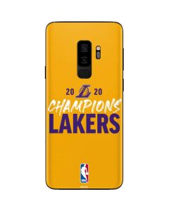 2020 Champions Lakers Galaxy S9 Plus Skin