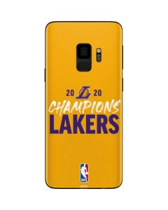 2020 Champions Lakers Galaxy S9 Skin
