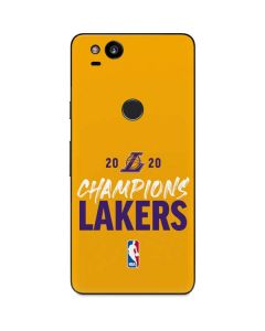 2020 Champions Lakers Google Pixel 2 Skin