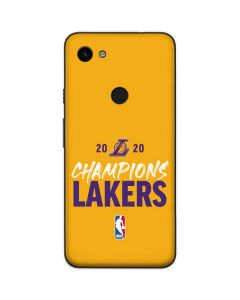 2020 Champions Lakers Google Pixel 3a Skin