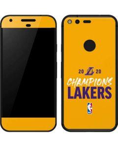 2020 Champions Lakers Google Pixel XL Skin