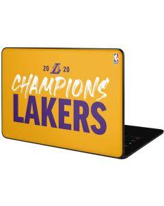 2020 Champions Lakers Google Pixelbook Go Skin