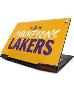 2020 Champions Lakers Lenovo IdeaPad Skin