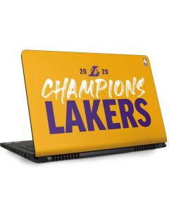 2020 Champions Lakers Dell Inspiron Skin