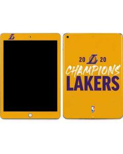 2020 Champions Lakers Apple iPad Skin