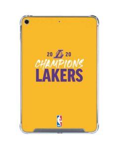 2020 Champions Lakers iPad Mini 5 (2019) Clear Case
