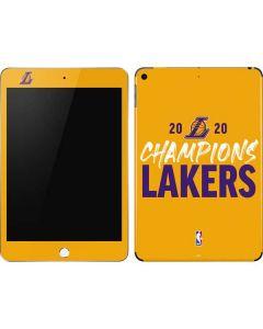 2020 Champions Lakers Apple iPad Mini Skin