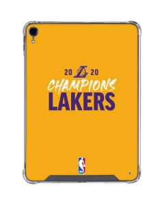 2020 Champions Lakers iPad Pro 11in (2018-19) Clear Case