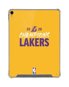 2020 Champions Lakers iPad Pro 12.9in (2018-19) Clear Case