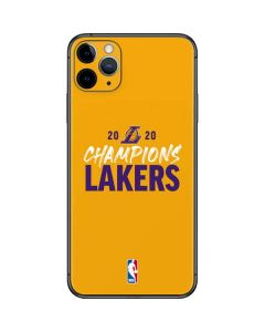 2020 Champions Lakers iPhone 11 Pro Max Skin