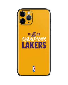 2020 Champions Lakers iPhone 11 Pro Skin