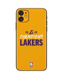 2020 Champions Lakers iPhone 11 Skin
