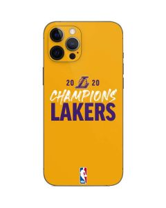 2020 Champions Lakers iPhone 12 Pro Skin