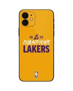 2020 Champions Lakers iPhone 12 Skin