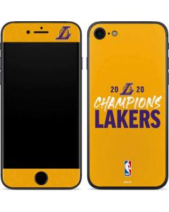 2020 Champions Lakers iPhone SE Skin