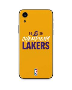 2020 Champions Lakers iPhone XR Skin
