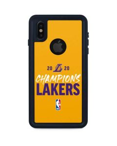 2020 Champions Lakers iPhone XS Waterproof Case