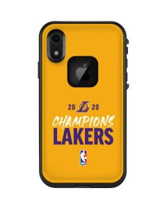 2020 Champions Lakers LifeProof Fre iPhone Skin