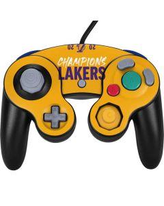 2020 Champions Lakers Nintendo GameCube Controller Skin
