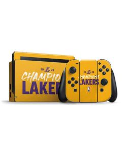 2020 Champions Lakers Nintendo Switch Bundle Skin