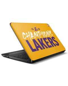 2020 Champions Lakers HP Notebook Skin