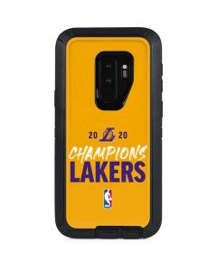 2020 Champions Lakers Otterbox Defender Galaxy Skin