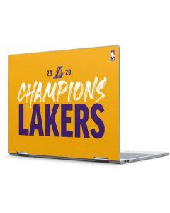 2020 Champions Lakers Pixelbook Skin