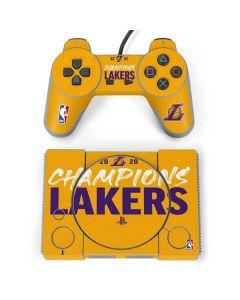 2020 Champions Lakers PlayStation Classic Bundle Skin
