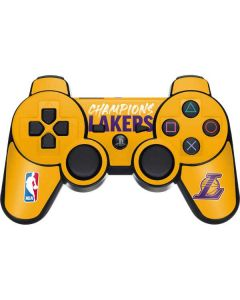 2020 Champions Lakers PS3 Dual Shock wireless controller Skin