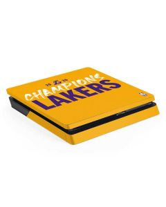 2020 Champions Lakers PS4 Slim Skin