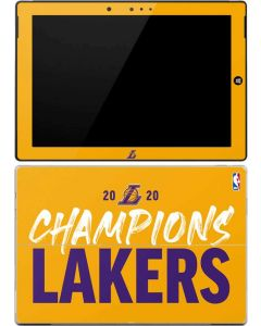 2020 Champions Lakers Surface 3 Skin